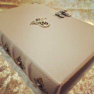 Leather Dragon Grimoire Box Book Dice & Accessory Holder 5